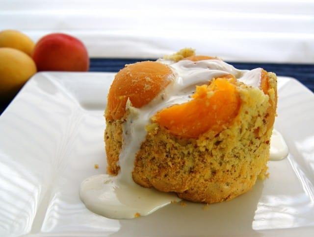 Mini Apricot-Almond Cakes