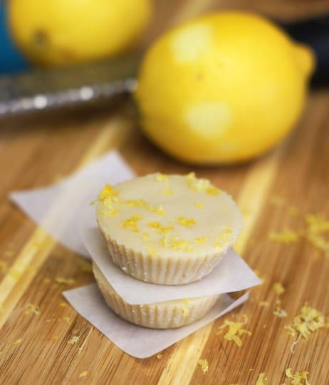 Low Carb Coconut Lemon Drops