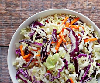 Paleo Coleslaw With Foolproof Homemade Mayo