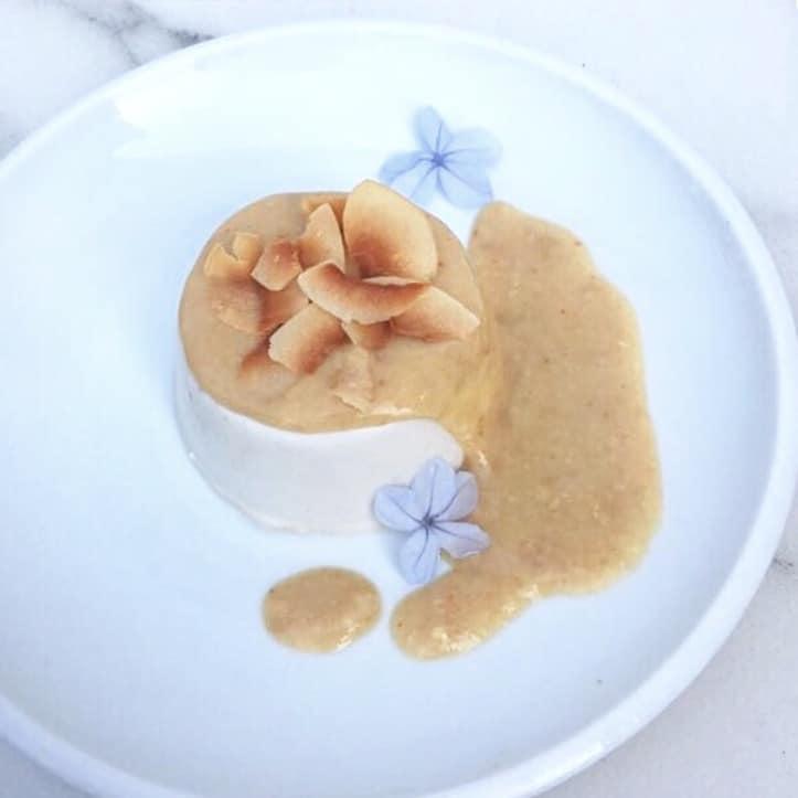 Coconut Kefir Panna Cotta